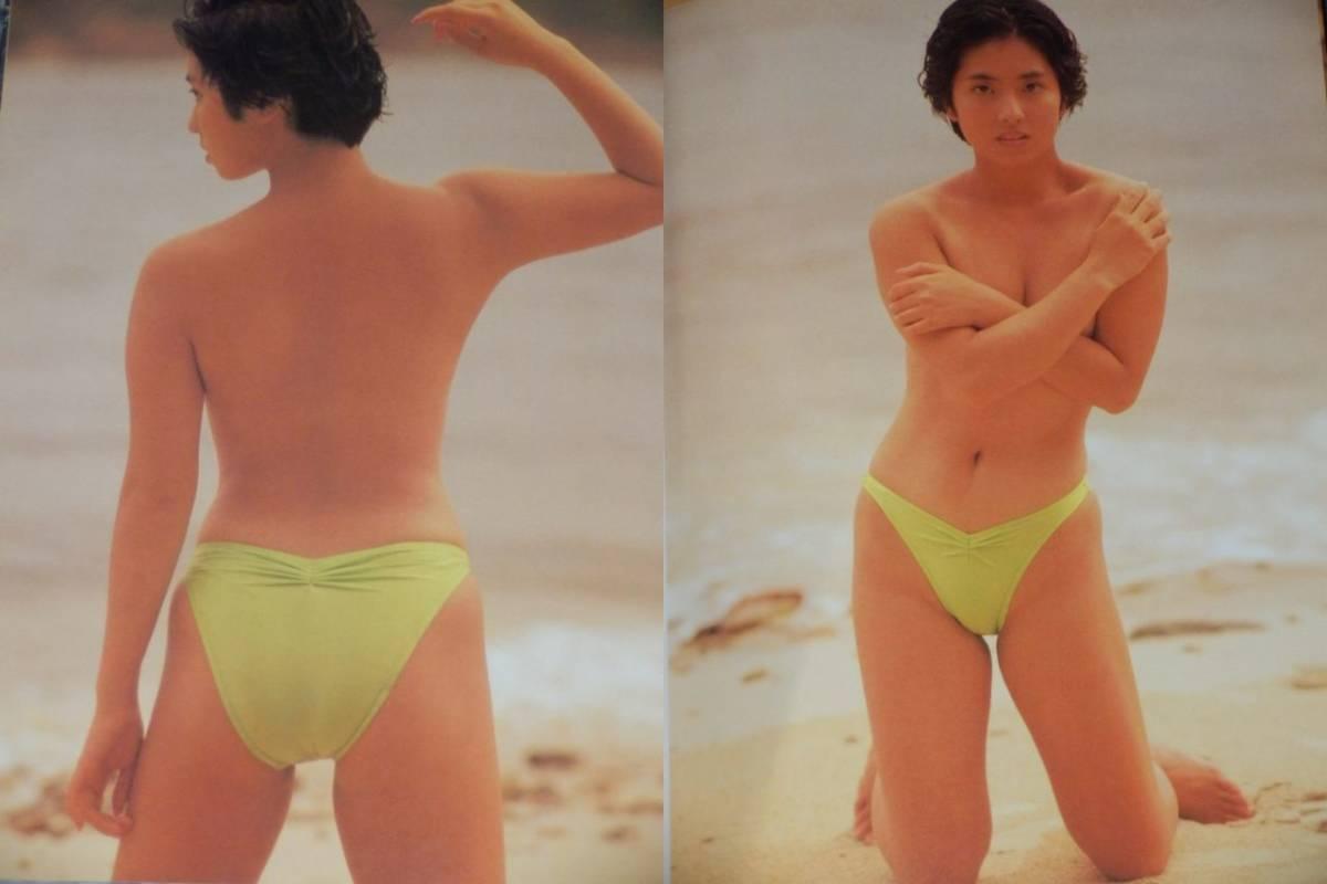 写真集 蓮舫 Ren Ho 20歳セミヌード 1988年クラリオンガール 国会議員 1988年_画像5
