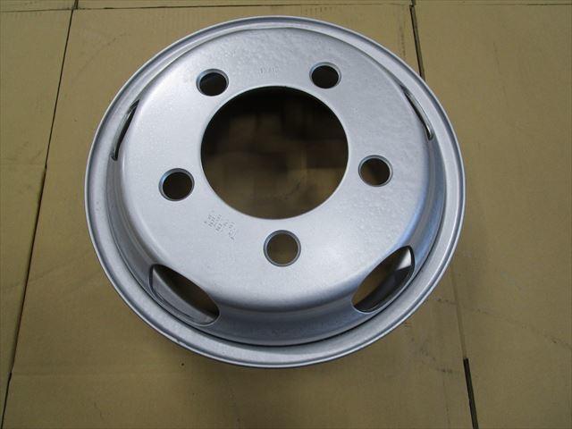 送料無料 いすゞエルフ 2トン TOPY製 TM15×5J 116.5-8TC 5穴 両面再塗装 1本価格_画像1