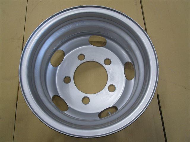 送料無料 いすゞエルフ 2トン TOPY製 TM15×5J 116.5-8TC 5穴 両面再塗装 1本価格_画像3