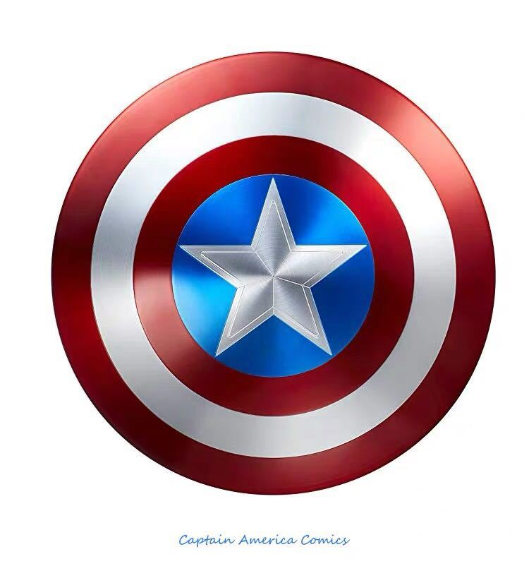「新品未開封」マーベル アベンジャーズ キャプテンアメリカ 1:1スケール 盾 シールド 75周年 Hasbro(ハズブロ) アルミニウム合金製 _画像3