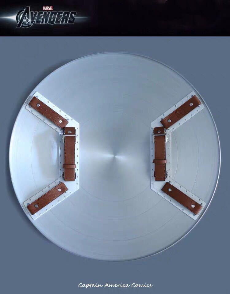 「新品未開封」マーベル アベンジャーズ キャプテンアメリカ 1:1スケール 盾 シールド 75周年 Hasbro(ハズブロ) アルミニウム合金製 _画像4