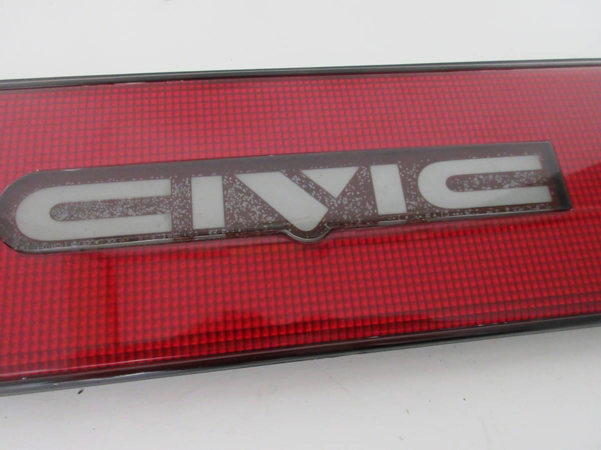 S310523-0121 グランド シビック EF9 SiR ワンダー CR-X フェリオ EF4 EF8 リア ガーニッシュ _画像5