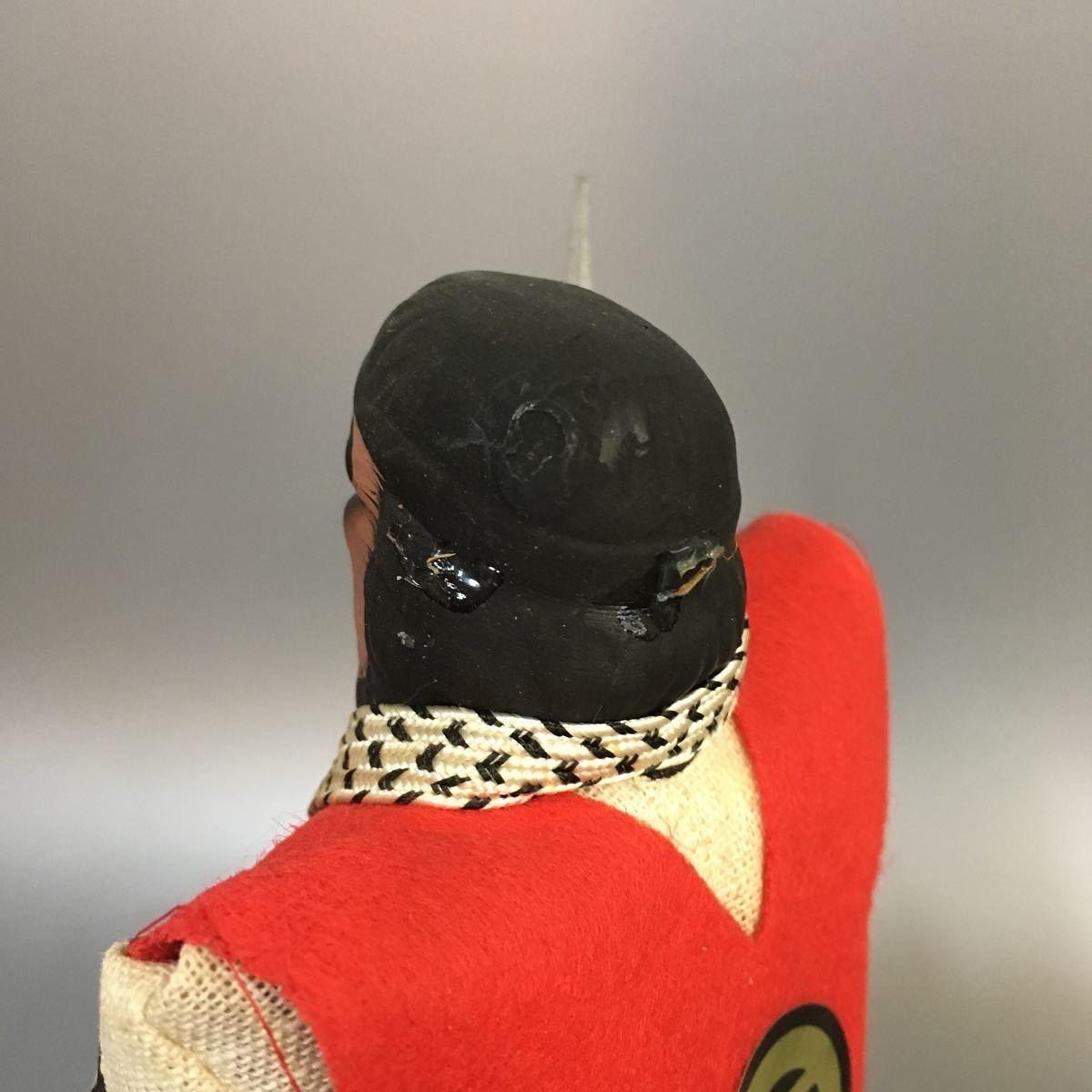 民2) 【同梱可】 郷土玩具 民芸品 和風 置物 昭和 レトロ_画像7