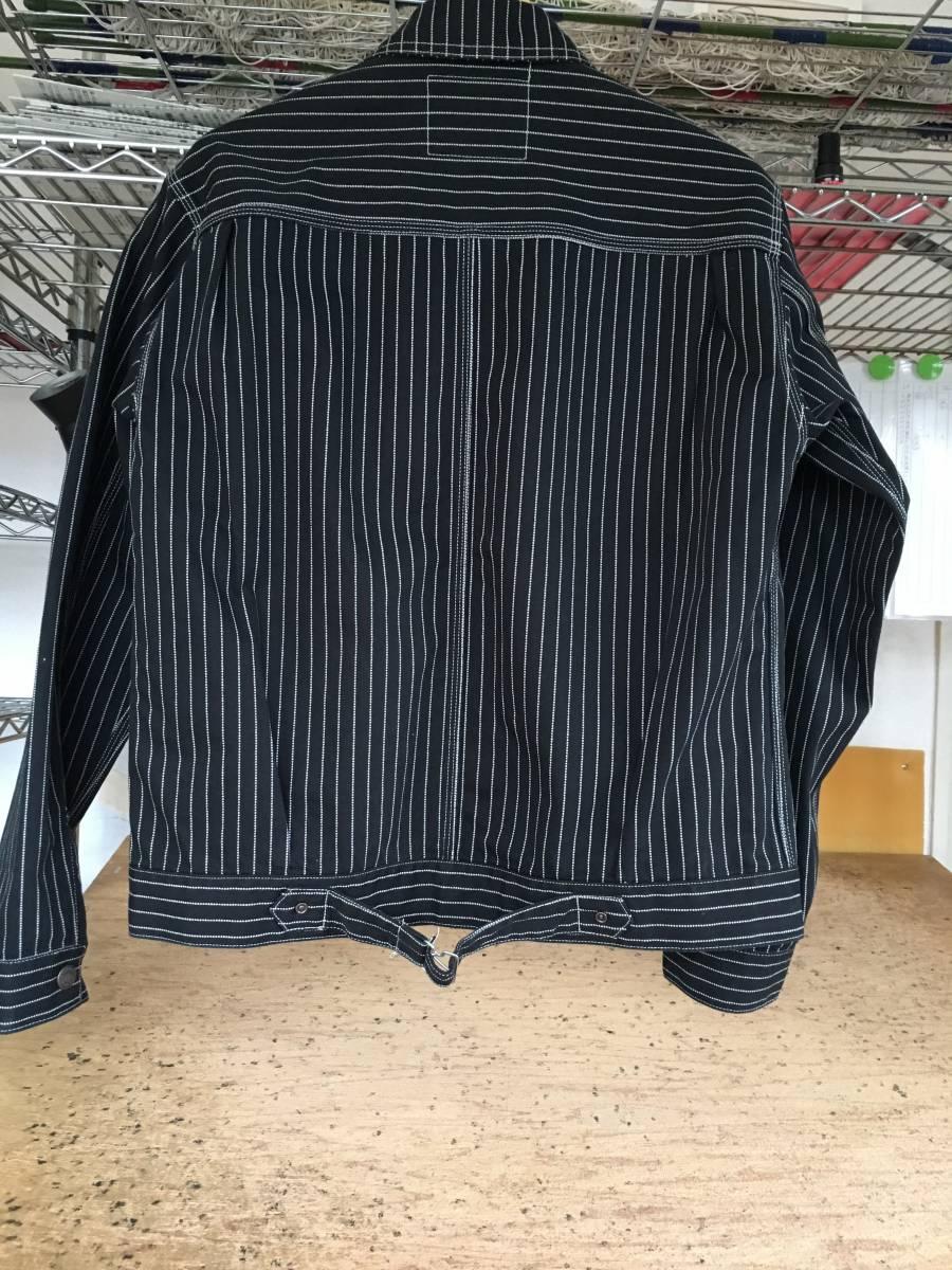 【新品未使用】Perrow's フェローズ ウォバッシュワークジャケット 222WJ/ザ リアルマッコイズ フラットヘッド ヴィンテージ_画像2