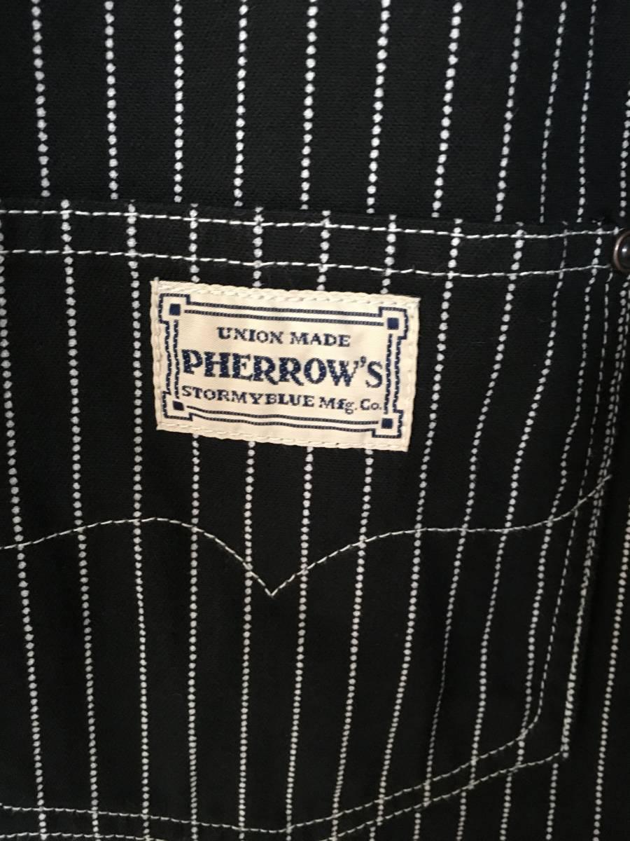 【新品未使用】Perrow's フェローズ ウォバッシュワークジャケット 222WJ/ザ リアルマッコイズ フラットヘッド ヴィンテージ_画像4