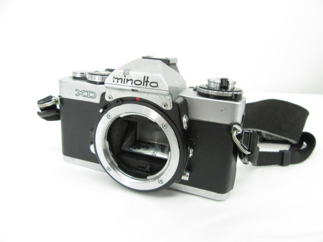 105♭minolta ミノルタ XD カメラボディ 一眼レフ ※ジャンク