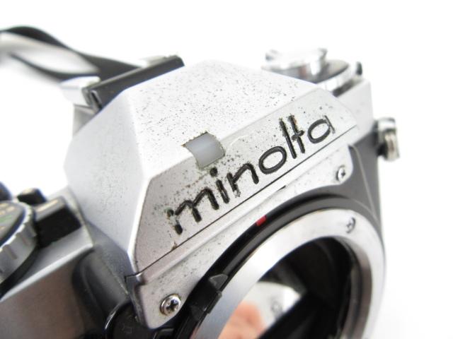 105♭minolta ミノルタ XD カメラボディ 一眼レフ ※ジャンク_画像8