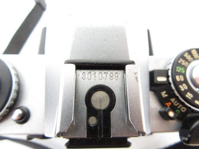 105♭minolta ミノルタ XD カメラボディ 一眼レフ ※ジャンク_画像9