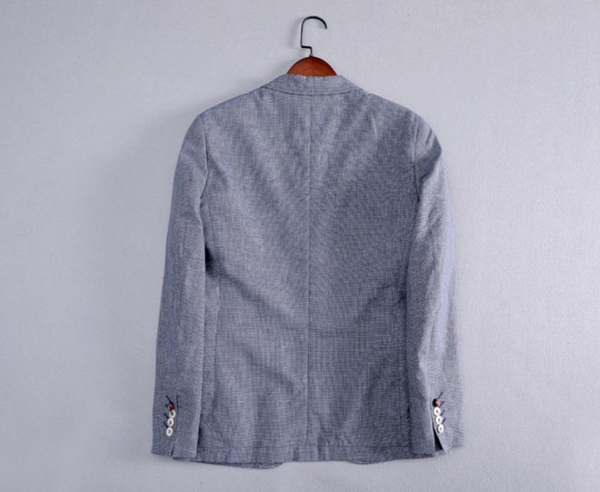 新入荷!夏*新品★リネン100% 高品質★ 着心地良い メンズ 紳士服 上着 ジャケット M_画像2