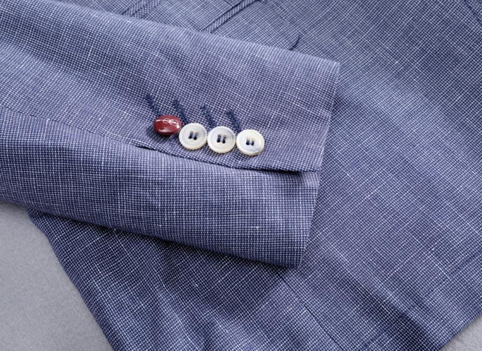 新入荷!夏*新品★リネン100% 高品質★ 着心地良い メンズ 紳士服 上着 ジャケット M_画像7