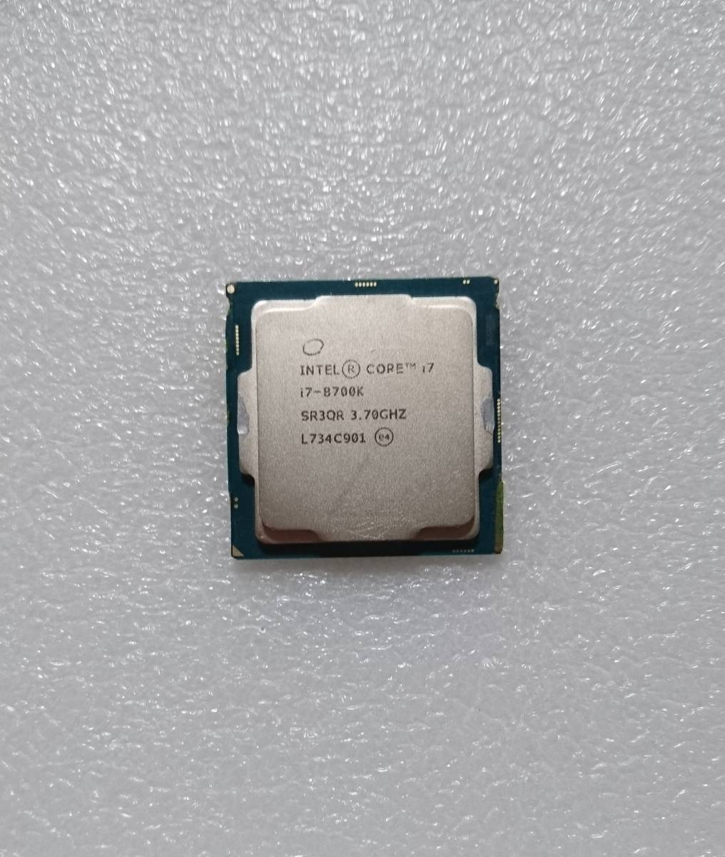 ☆ intel Core i7-8700K SR3QR 3.7GHz LGA1151 インテル CPU 第8世代 ☆