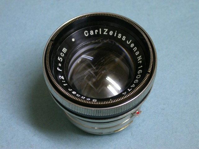 ツァイスイコンContax用ゾナー50/2BK-Ni #1606474 後期 美品レア(ラッパゾナー)