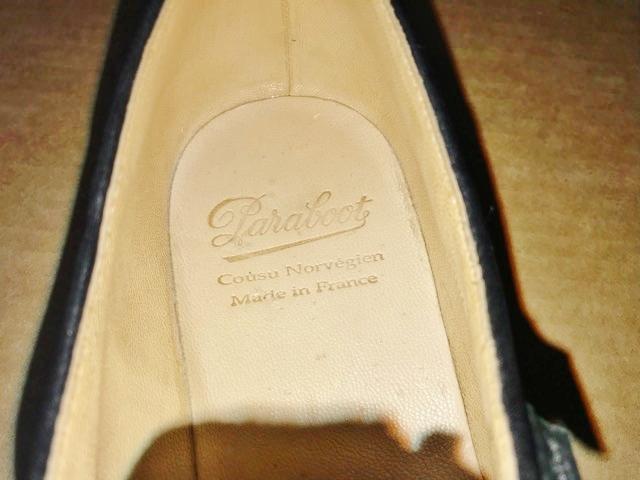 極美品 Paraboot パラブーツ ミカエル MICHAEL ブーツ フランス製 ノルウィージャン ノルベジェーゼ 革靴 レザーシューズ ビジネス 靴 黒_画像3