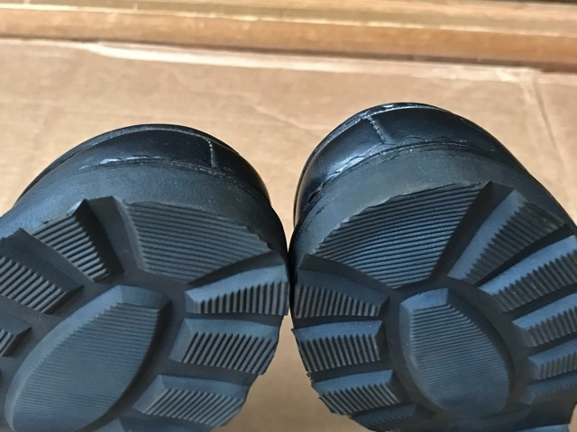 極美品 Paraboot パラブーツ ミカエル MICHAEL ブーツ フランス製 ノルウィージャン ノルベジェーゼ 革靴 レザーシューズ ビジネス 靴 黒_画像8