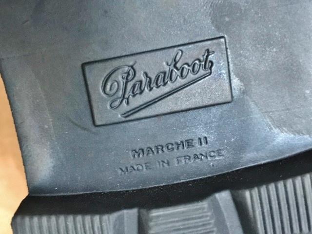 極美品 Paraboot パラブーツ ミカエル MICHAEL ブーツ フランス製 ノルウィージャン ノルベジェーゼ 革靴 レザーシューズ ビジネス 靴 黒_画像10