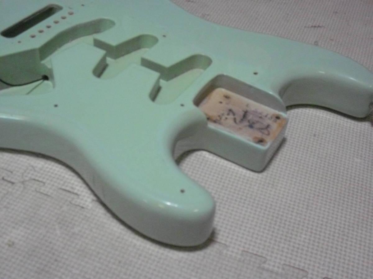 ストラト 3S アルダー Fender MEX Classic series 青_画像5