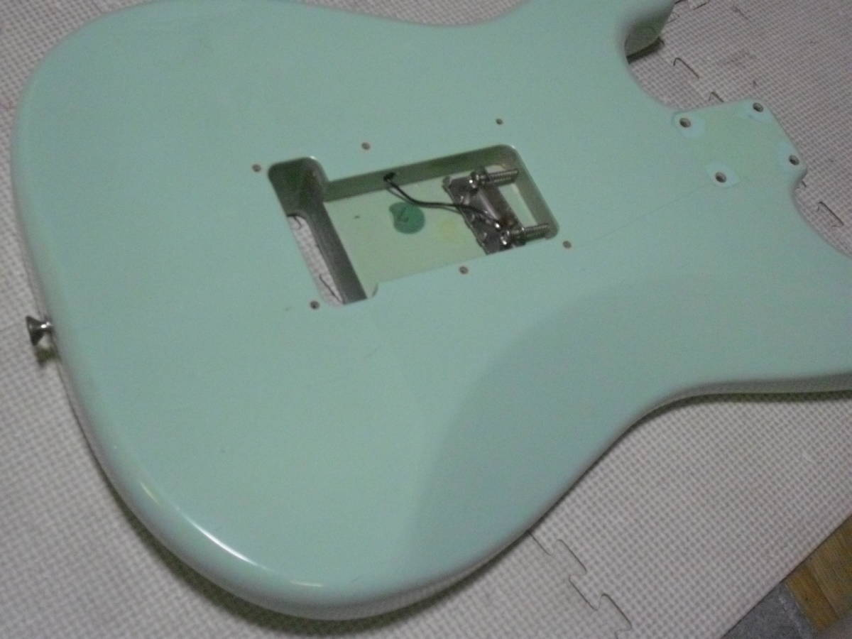 ストラト 3S アルダー Fender MEX Classic series 青_画像9