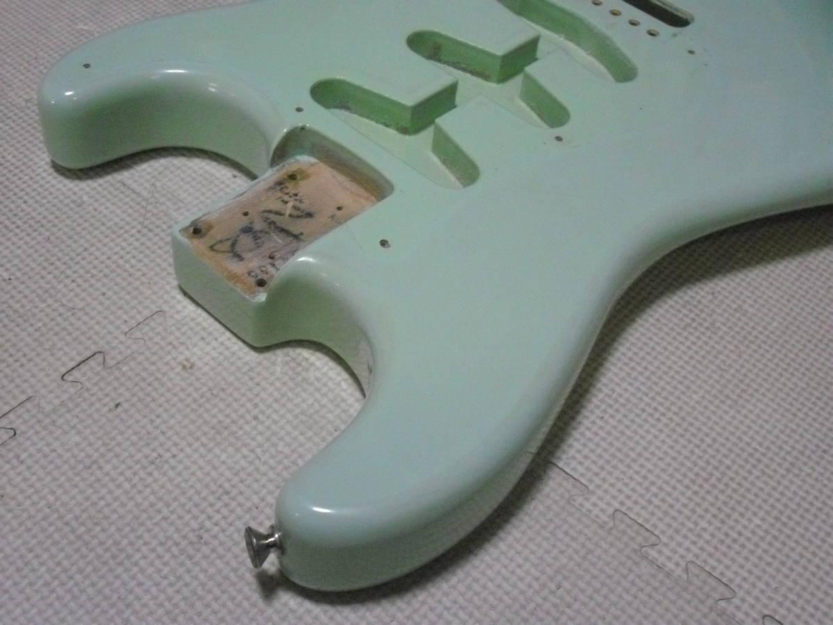 ストラト 3S アルダー Fender MEX Classic series 青_画像2