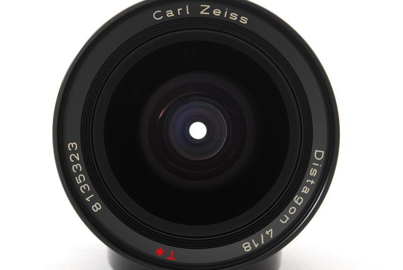 美品 Conatx コンタックス Carl Zeiss Distagon 18mm F4 T* MMJ レンズ_画像7