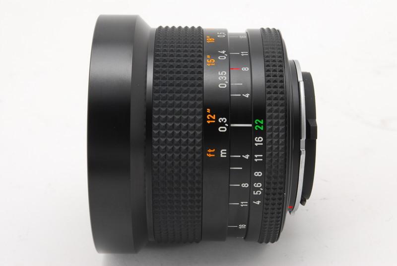 美品 Conatx コンタックス Carl Zeiss Distagon 18mm F4 T* MMJ レンズ_画像5