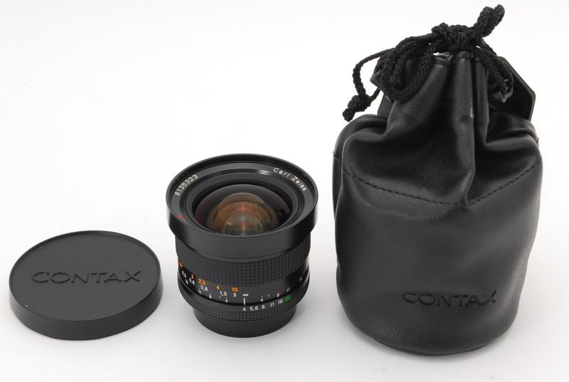 美品 Conatx コンタックス Carl Zeiss Distagon 18mm F4 T* MMJ レンズ