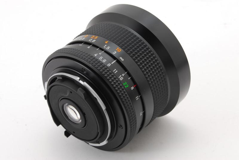 美品 Conatx コンタックス Carl Zeiss Distagon 18mm F4 T* MMJ レンズ_画像4