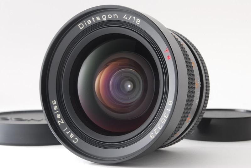 美品 Conatx コンタックス Carl Zeiss Distagon 18mm F4 T* MMJ レンズ_画像2
