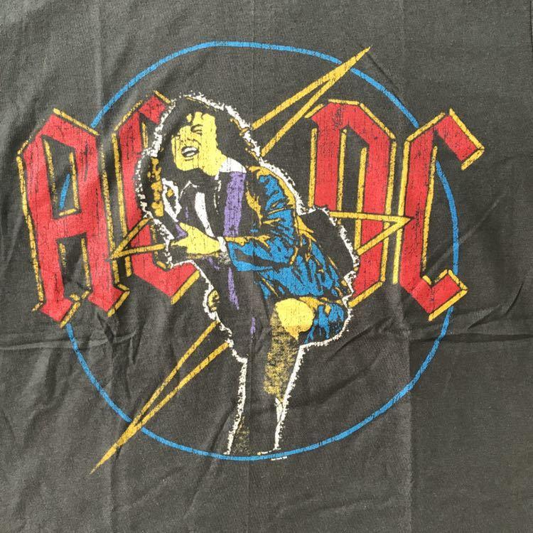 バンドTシャツ エーシーディーシー(AC/DC)w1新品 L_画像2