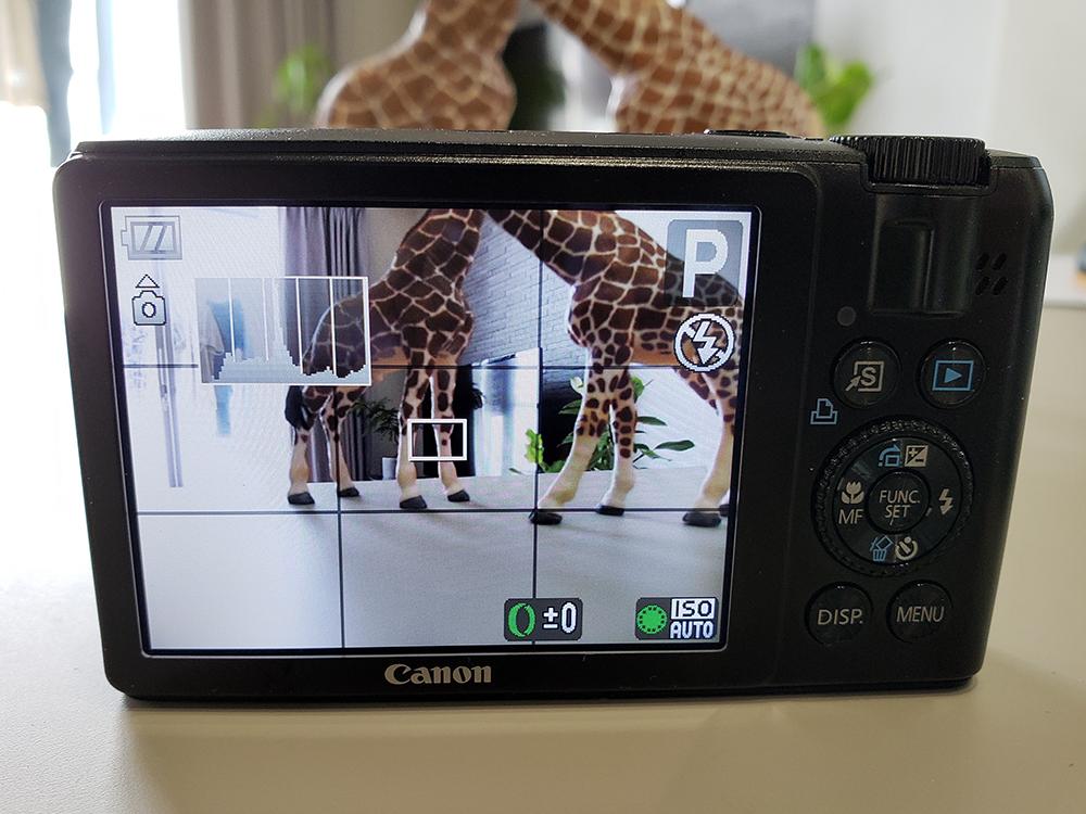 ★中古良品 Canon キヤノン Power Shot S90 黒◆動作確認済◆_画像2
