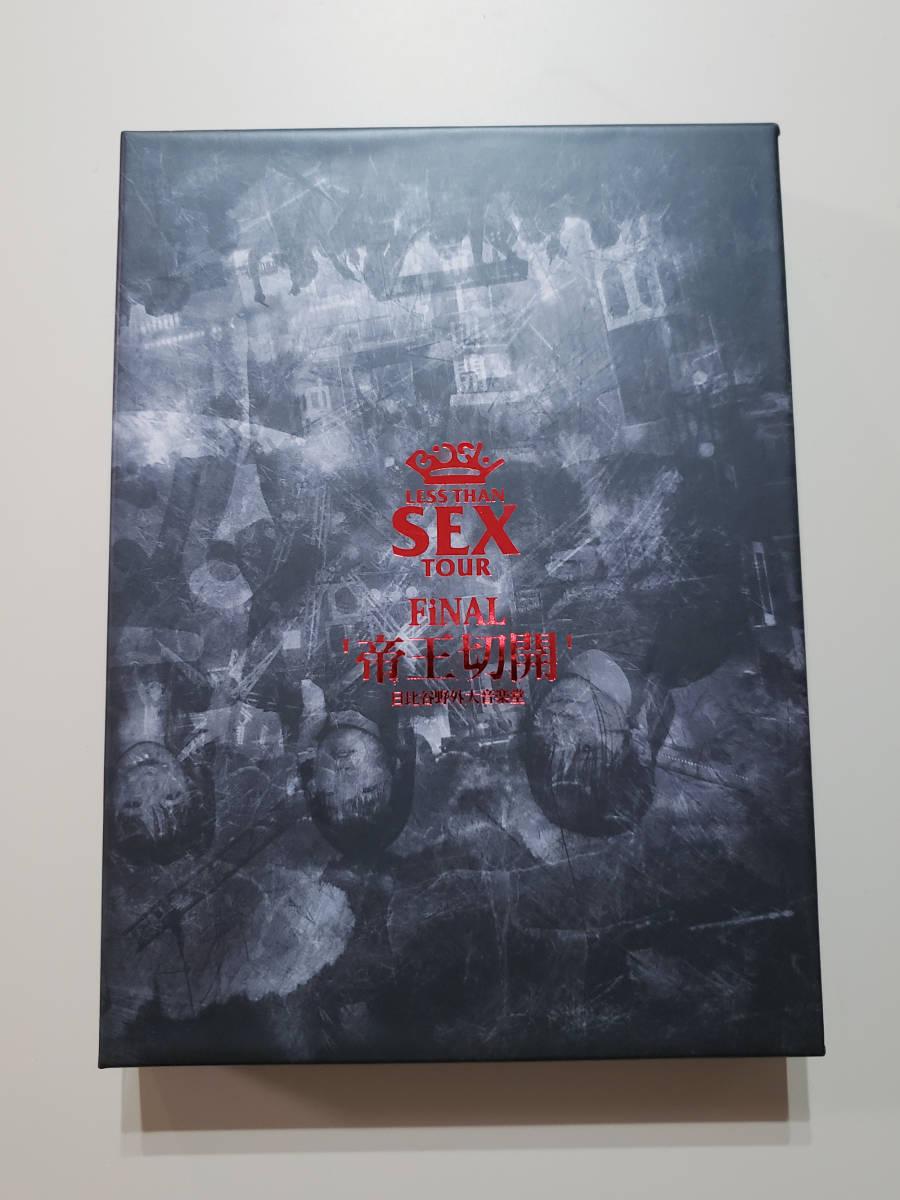blu-ray◇ BiSH / LESS THAN SEX TOUR FiNAL'帝王切開'◇美品