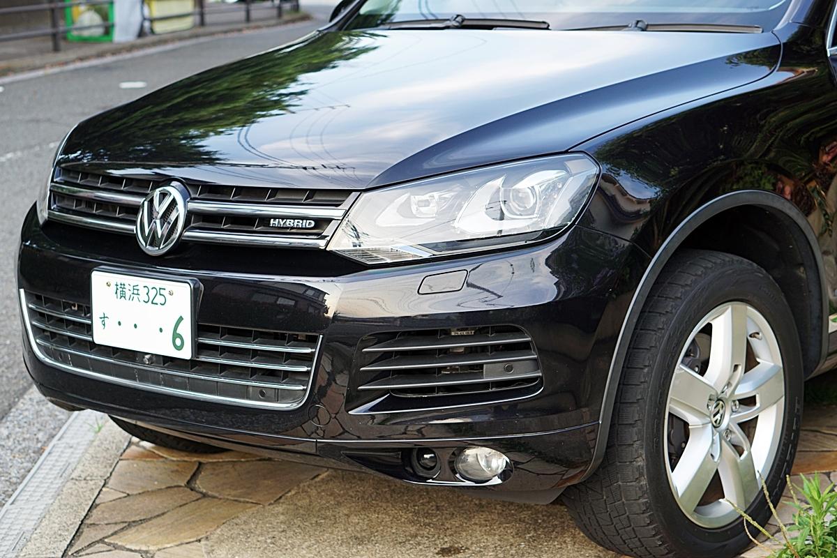 VW最上級車 トゥアレグ ハイブリッド 装備充実 ディラーにて12か月点検済み タイヤ新品_画像2