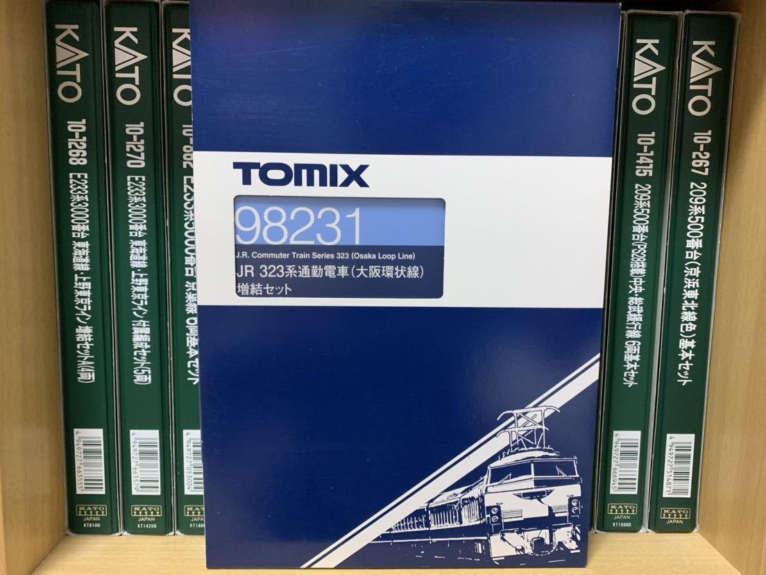 TOMIX 98230+98231 323系 大阪環状線 8両セット
