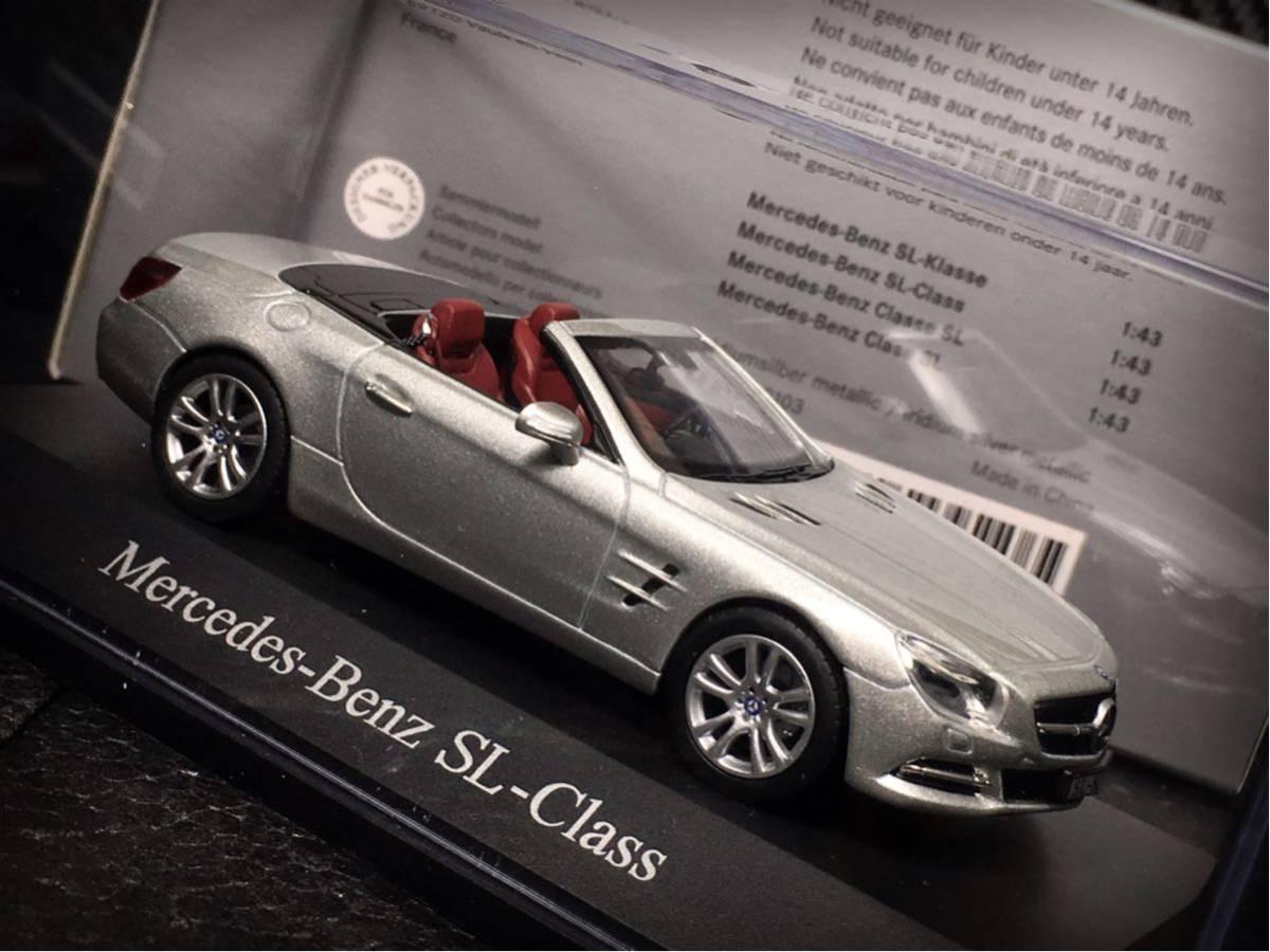 Mercedes- Benz SL Klasse 2011 (R231) 1/43 特注 Norev メルセデス ベンツ SL (ルーフ装着可)_画像7