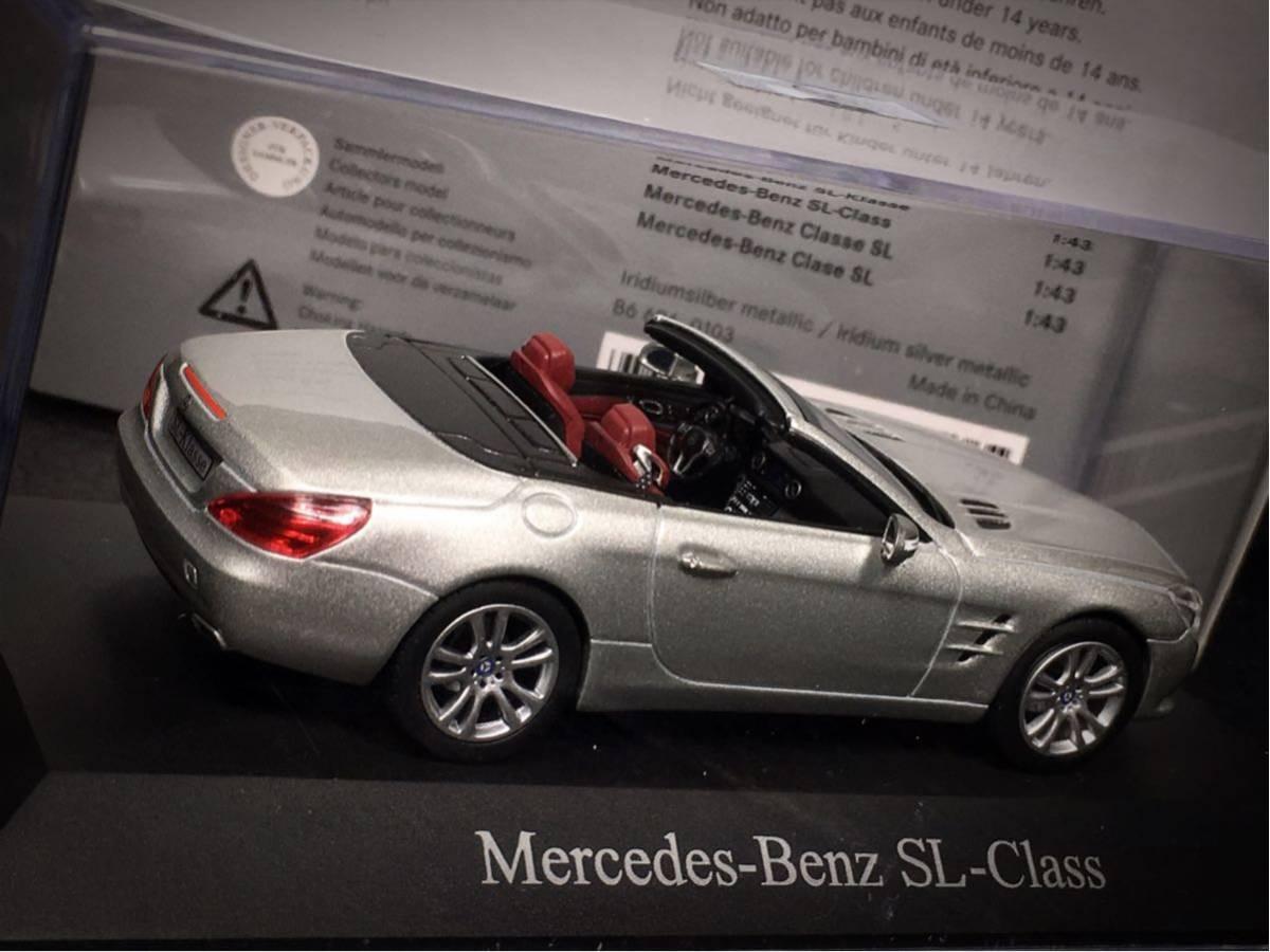 Mercedes- Benz SL Klasse 2011 (R231) 1/43 特注 Norev メルセデス ベンツ SL (ルーフ装着可)_画像6