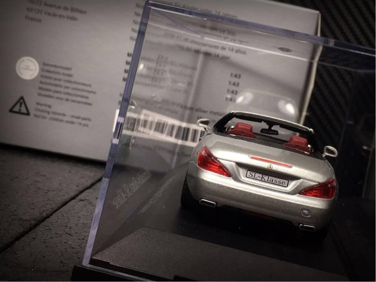 Mercedes- Benz SL Klasse 2011 (R231) 1/43 特注 Norev メルセデス ベンツ SL (ルーフ装着可)_画像5