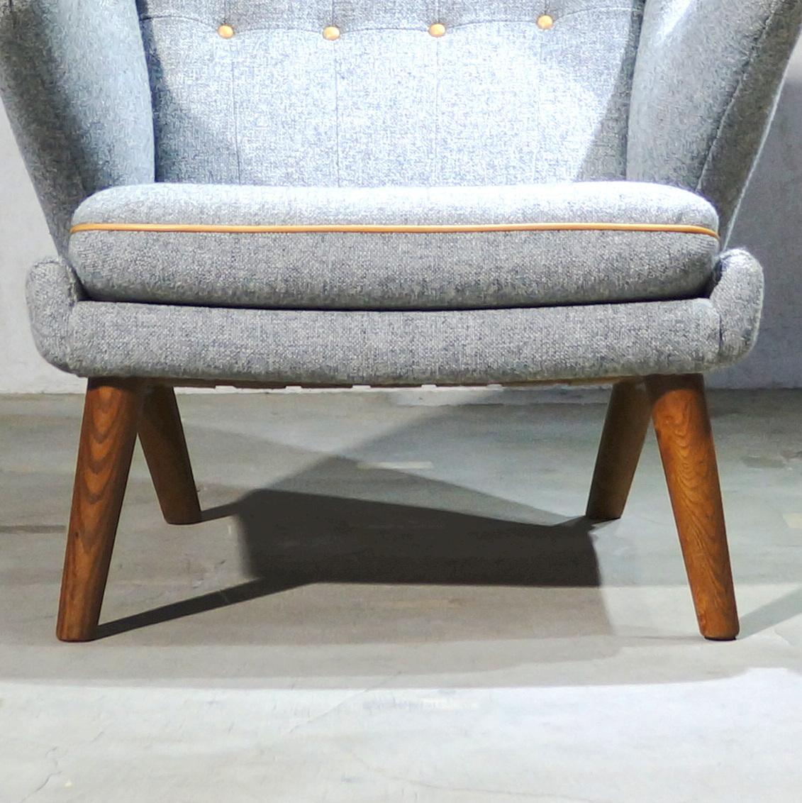 Hans J. Wegner ウェグナー AP-19 Bear Chair ベアチェア Teak & Oak チークオーク ※フィンユール モーエンセン_画像10