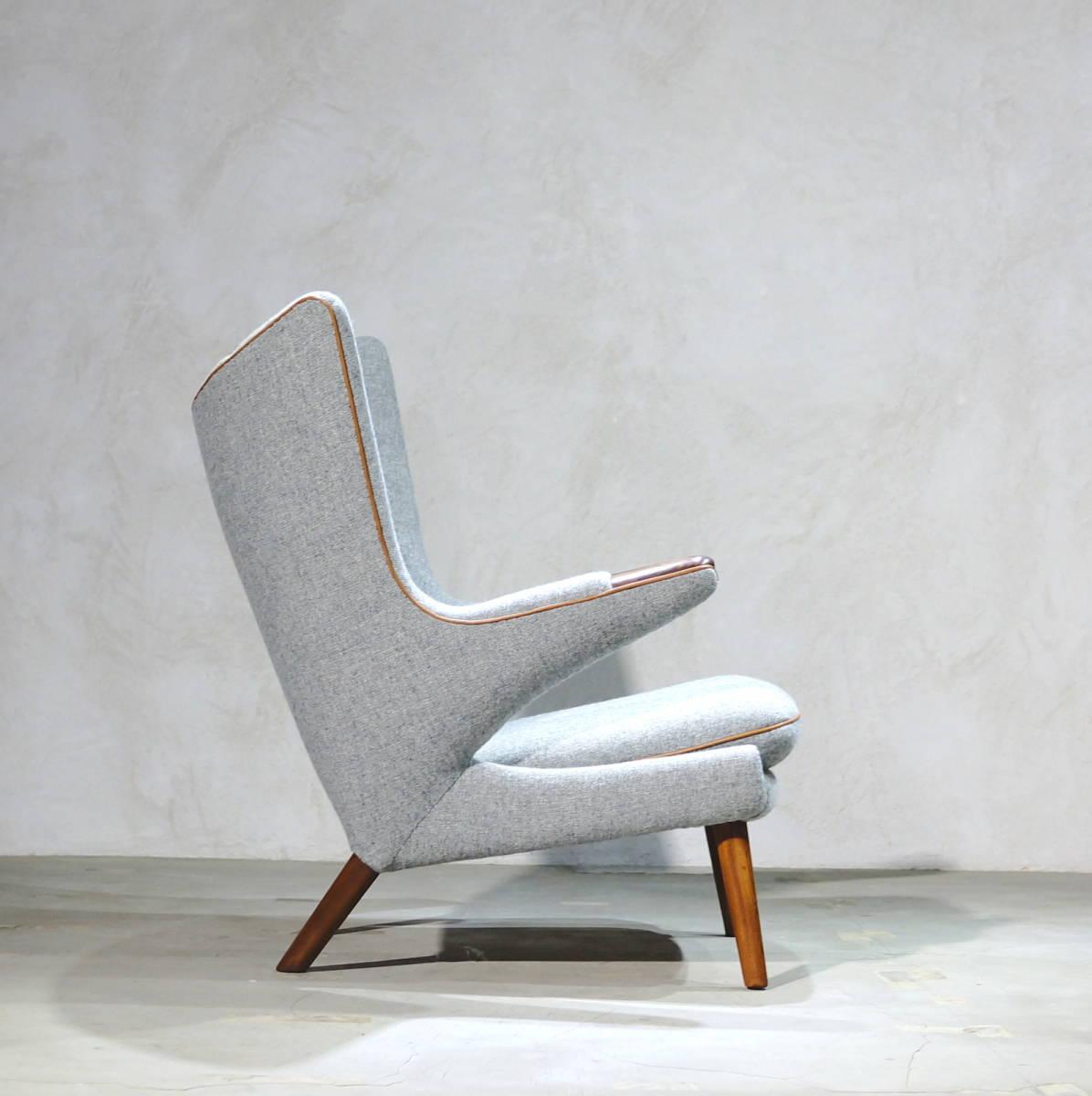 Hans J. Wegner ウェグナー AP-19 Bear Chair ベアチェア Rosewood & Teak ローズウッド&チーク ※フィンユール モーエンセン_画像5