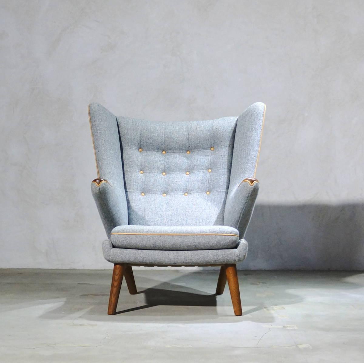 Hans J. Wegner ウェグナー AP-19 Bear Chair ベアチェア Teak & Oak チークオーク ※フィンユール モーエンセン