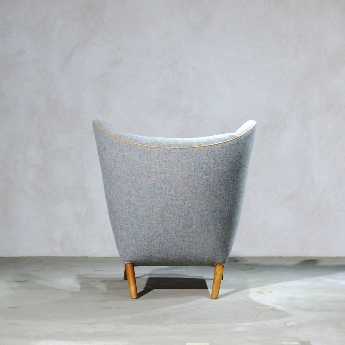 Hans J. Wegner ウェグナー AP-19 Bear Chair ベアチェア Teak & Oak チークオーク ※フィンユール モーエンセン_画像4