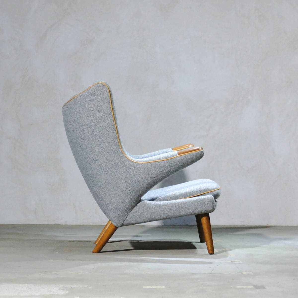 Hans J. Wegner ウェグナー AP-19 Bear Chair ベアチェア Teak & Oak チークオーク ※フィンユール モーエンセン_画像5