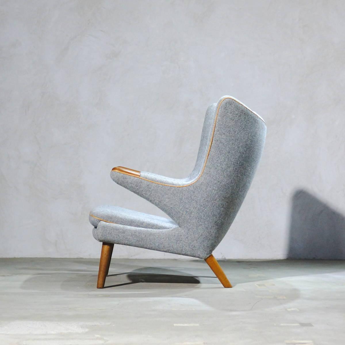 Hans J. Wegner ウェグナー AP-19 Bear Chair ベアチェア Teak & Oak チークオーク ※フィンユール モーエンセン_画像3