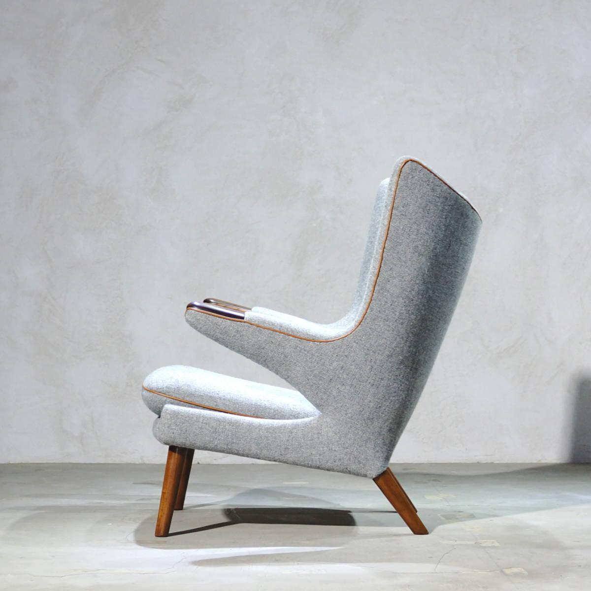 Hans J. Wegner ウェグナー AP-19 Bear Chair ベアチェア Rosewood & Teak ローズウッド&チーク ※フィンユール モーエンセン_画像3
