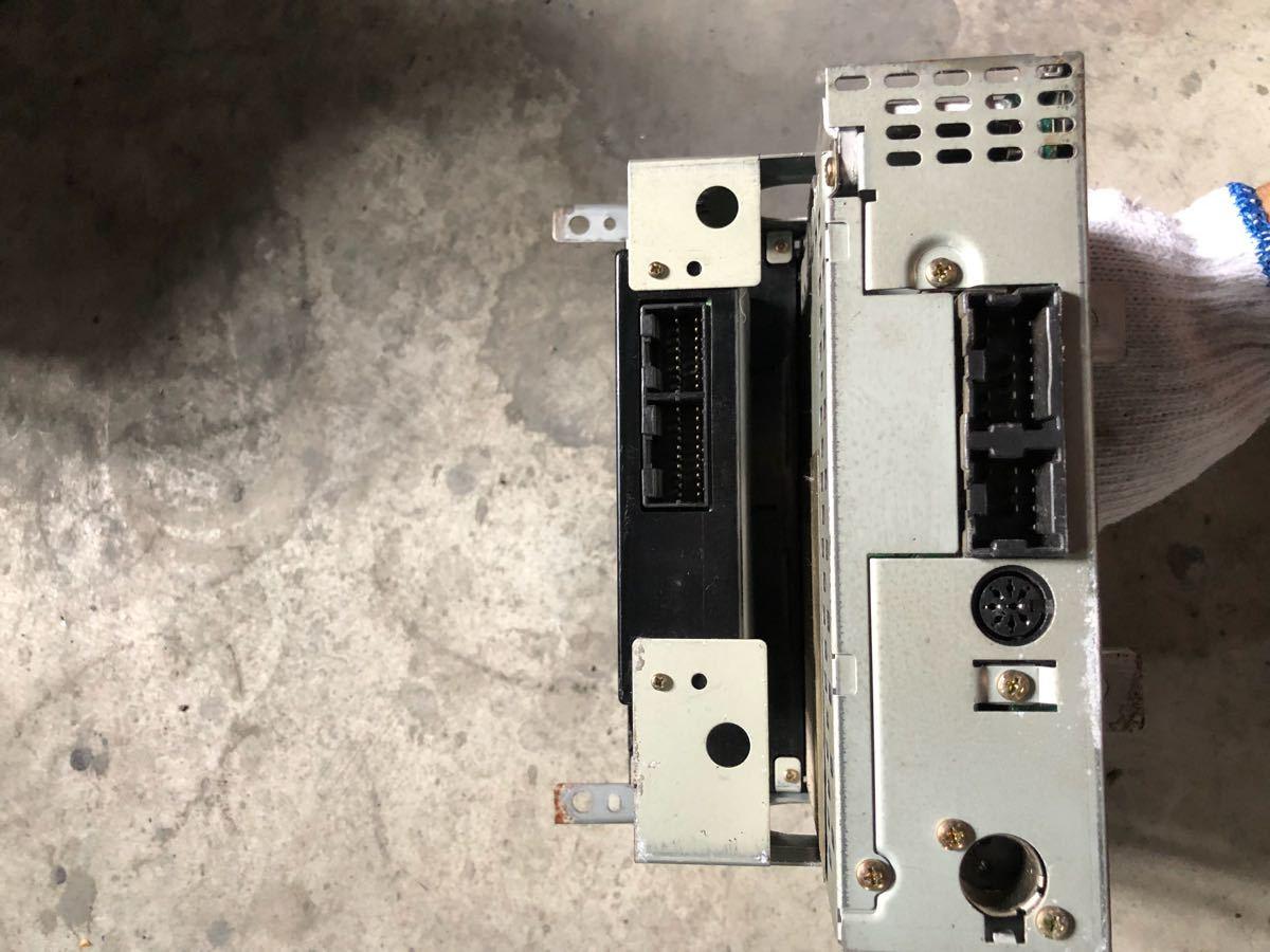日産 純正 BCNR33 エアコンコントロールスイッチパネル ZEXEL スカイライン GT-R NISSAN SKYLINE R33 GTR オーディオデッキ カセットデッキ_画像5