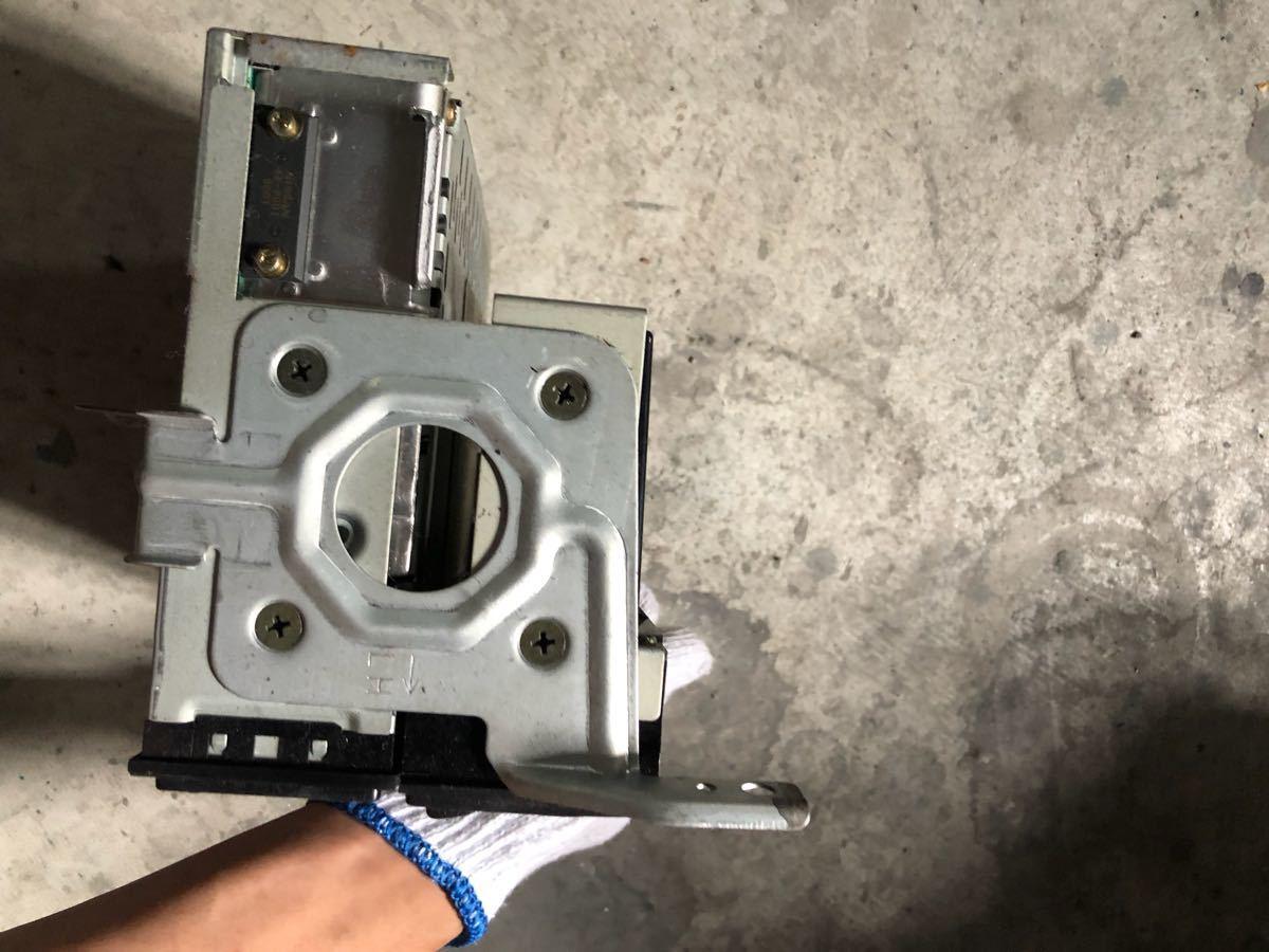 日産 純正 BCNR33 エアコンコントロールスイッチパネル ZEXEL スカイライン GT-R NISSAN SKYLINE R33 GTR オーディオデッキ カセットデッキ_画像4