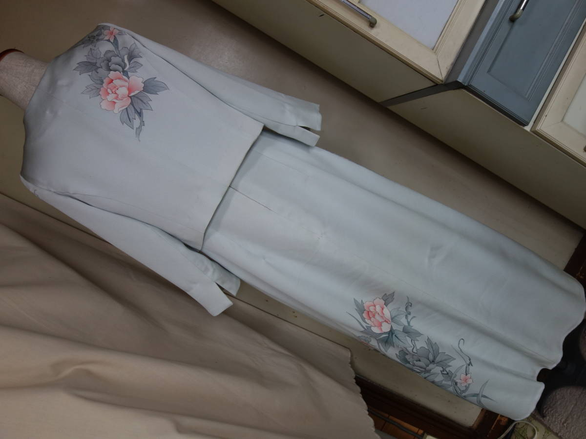 着物リメイク★未仕立ての訪問着からドレス、ジャケット、ブラウス3点セット★11号_画像8