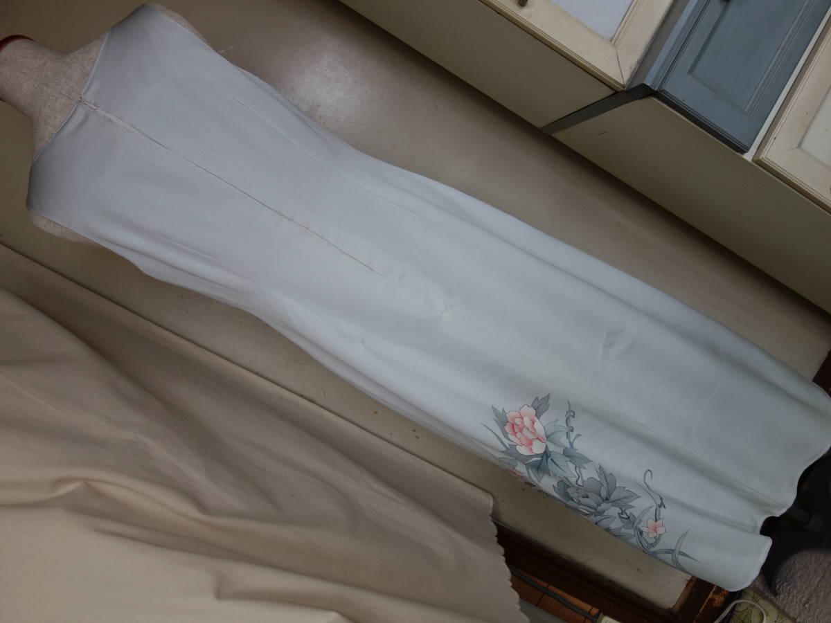 着物リメイク★未仕立ての訪問着からドレス、ジャケット、ブラウス3点セット★11号_画像10