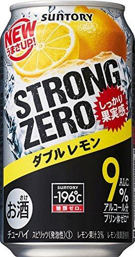 サントリーチューハイ -196℃ ストロングゼロ Wレモン 350ml×6本_画像4