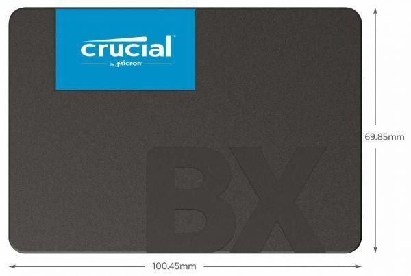 【新品・未開封】Crucial クルーシャル SSD 240GB BX500 2.5インチ 7mm CT240BX500SSD1/JP [H112-12]_画像3