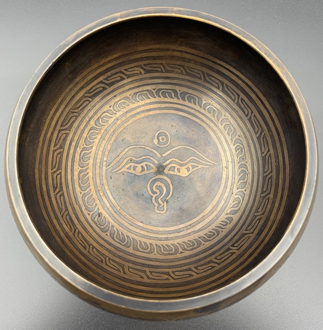 チベット密教法具-シンギングボール(瞑想鈴)-S17