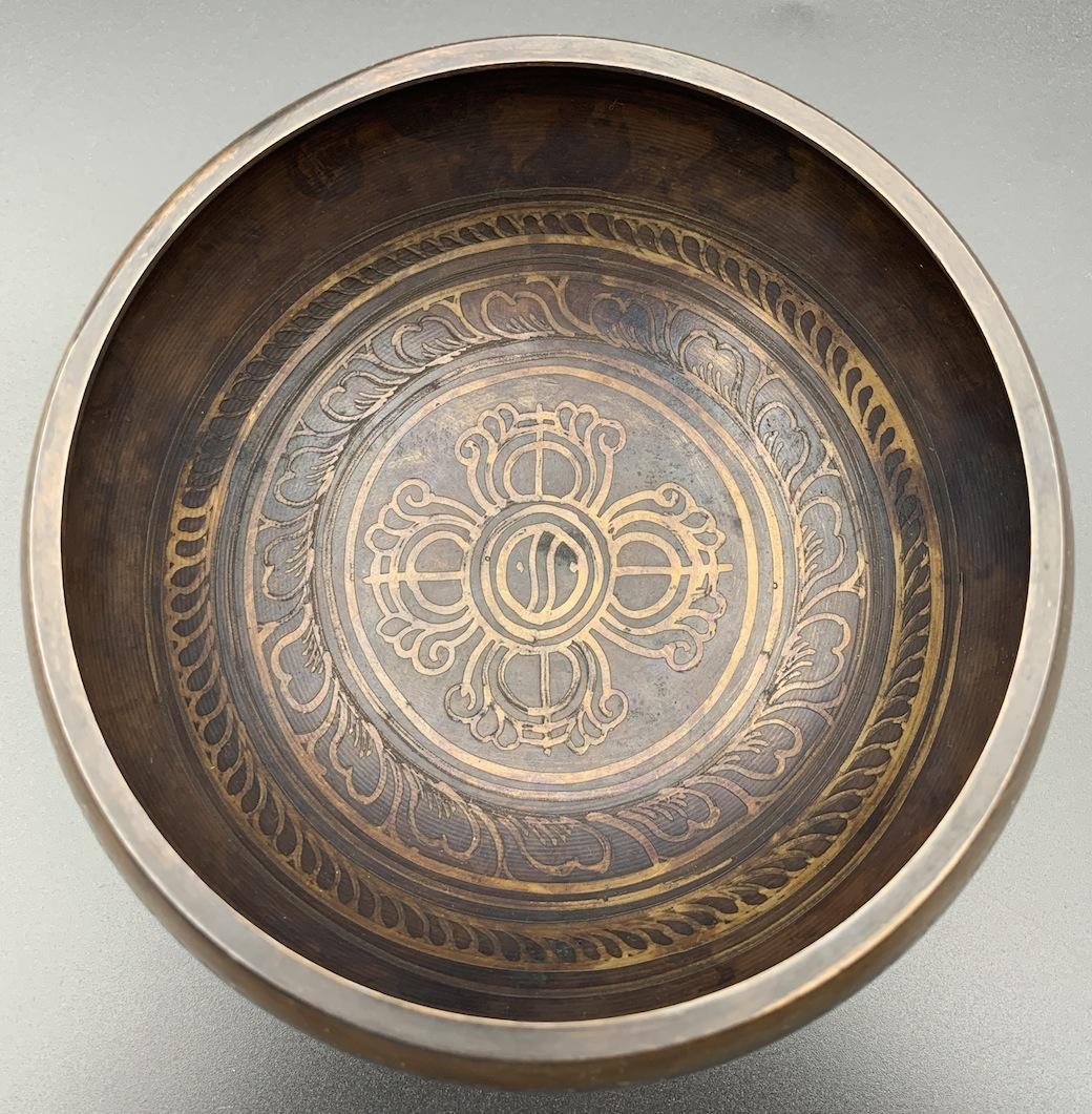 チベット密教法具-シンギングボール(瞑想鈴)-S11